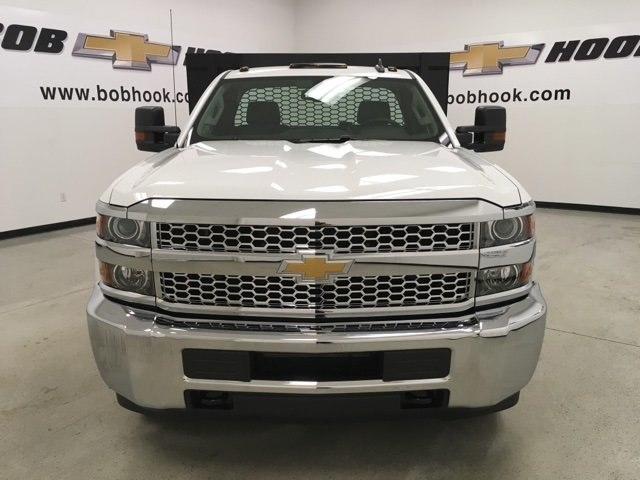 2019 Silverado 3500 Regular Cab DRW 4x2,  Knapheide Platform Body #190035 - photo 8