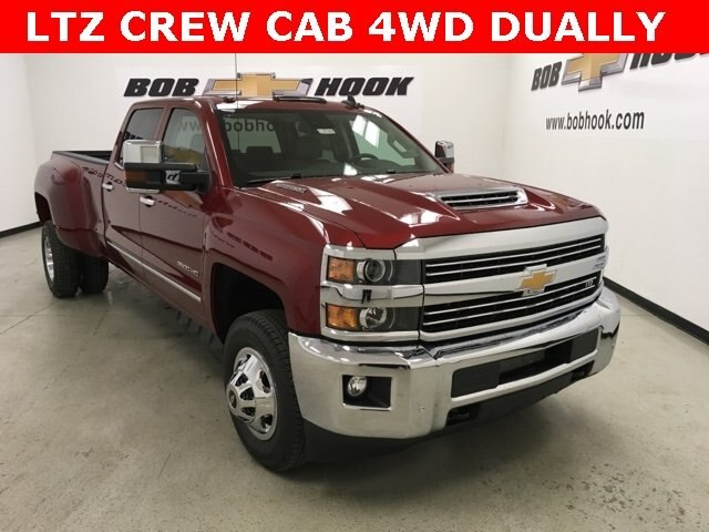 2019 Silverado 3500 Crew Cab 4x4,  Pickup #190181 - photo 3