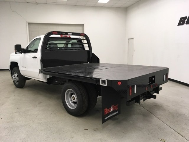 2019 Silverado 3500 Regular Cab DRW 4x4,  Reading Platform Body #190183 - photo 2