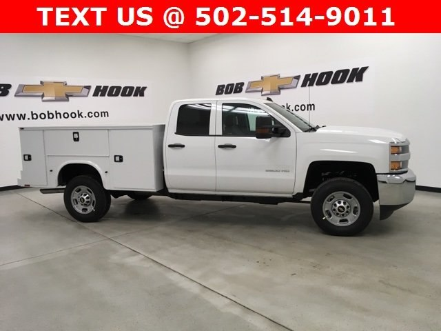 2019 Silverado 2500 Double Cab 4x2,  Knapheide Service Body #190236 - photo 4