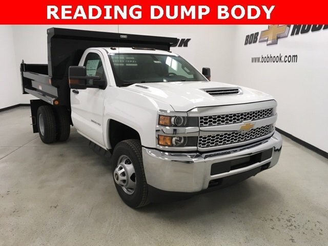 2019 Silverado 3500 Regular Cab DRW 4x4,  Reading Dump Body #190253 - photo 3