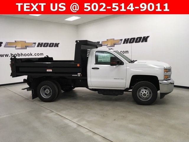 2019 Silverado 3500 Regular Cab DRW 4x4,  Reading Dump Body #190253 - photo 4