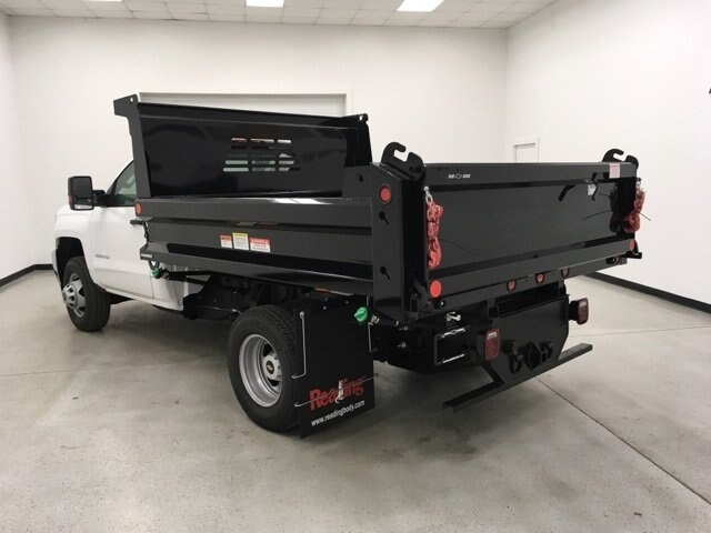 2019 Silverado 3500 Regular Cab DRW 4x4,  Reading Dump Body #190253 - photo 2