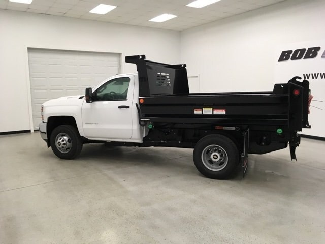 2019 Silverado 3500 Regular Cab DRW 4x4,  Reading Dump Body #190253 - photo 7