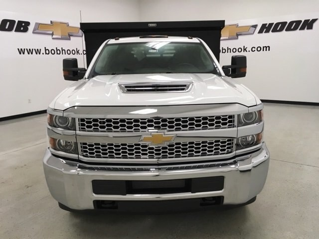 2019 Silverado 3500 Regular Cab DRW 4x4,  Reading Dump Body #190253 - photo 8