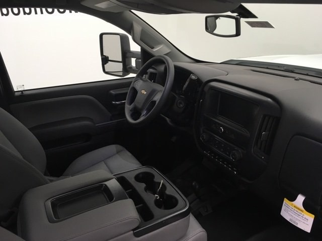 2019 Silverado 3500 Regular Cab DRW 4x4,  Reading Redi-Dek Platform Body #190275 - photo 10