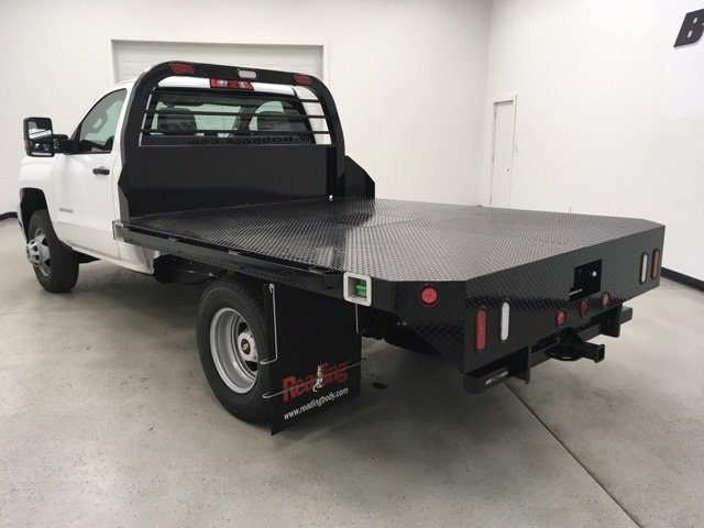 2019 Silverado 3500 Regular Cab DRW 4x4,  Reading Redi-Dek Platform Body #190275 - photo 2
