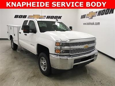 2019 Silverado 2500 Double Cab 4x2,  Knapheide Standard Service Body #190295 - photo 3