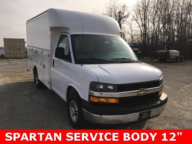 2019 Express 3500 4x2,  Supreme Service Utility Van #190310 - photo 3