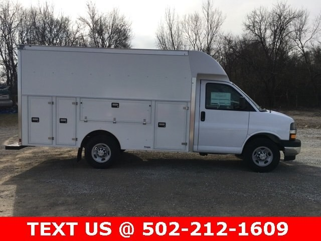 2019 Express 3500 4x2,  Supreme Service Utility Van #190310 - photo 5