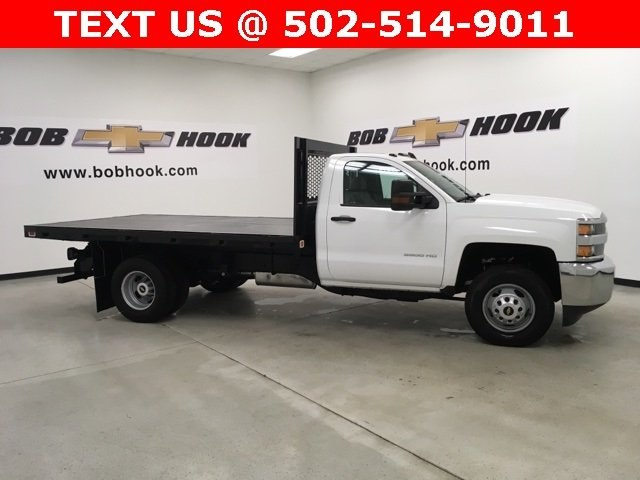 2019 Silverado 3500 Regular Cab DRW 4x2,  Knapheide Platform Body #190333 - photo 3