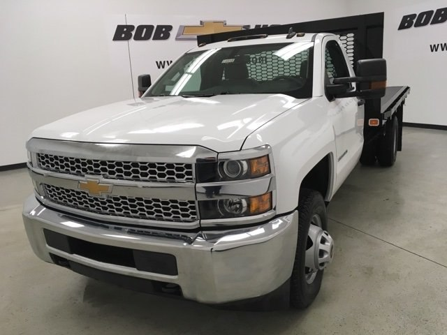 2019 Silverado 3500 Regular Cab DRW 4x2,  Knapheide Platform Body #190333 - photo 7
