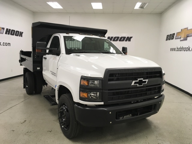 2019 Silverado Medium Duty Regular Cab DRW 4x2,  Knapheide Dump Body #191008 - photo 1