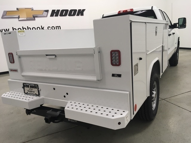 2019 Silverado 2500 Double Cab 4x4, Reading SL Service Body #191102 - photo 2
