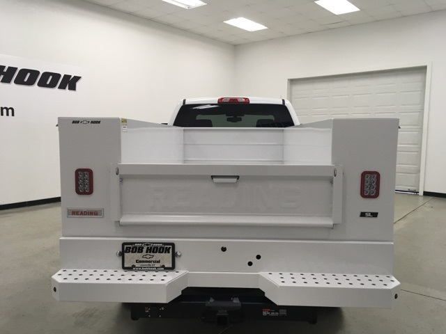 2019 Silverado 2500 Double Cab 4x4, Reading SL Service Body #191102 - photo 4