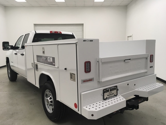 2019 Silverado 2500 Double Cab 4x4, Reading SL Service Body #191102 - photo 5