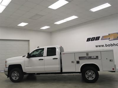 2019 Silverado 2500 Double Cab 4x4, Reading SL Service Body #191102 - photo 6