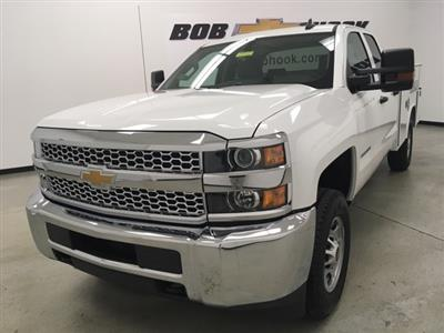 2019 Silverado 2500 Double Cab 4x4, Reading SL Service Body #191102 - photo 7