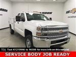 2019 Silverado 2500 Double Cab 4x4, Reading SL Service Body #191102 - photo 1