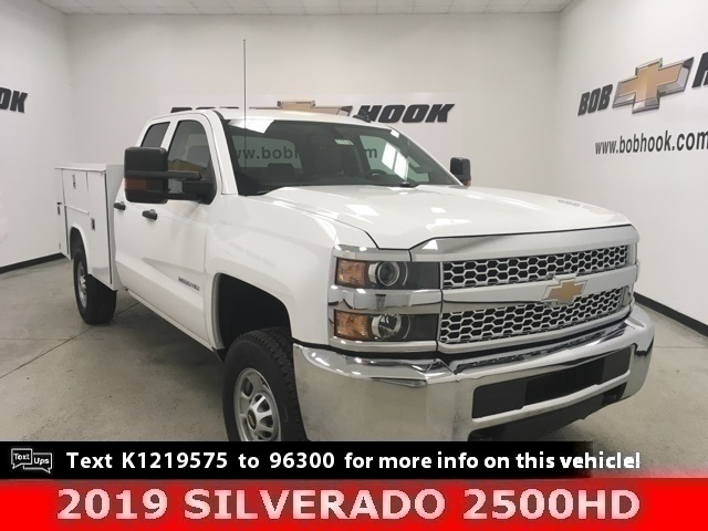2019 Chevrolet Silverado 2500 Double Cab 4x4, Reading Service Body #191118 - photo 1