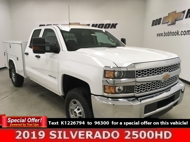 2019 Chevrolet Silverado 2500 Double Cab 4x4, Reading Service Body #191164 - photo 1