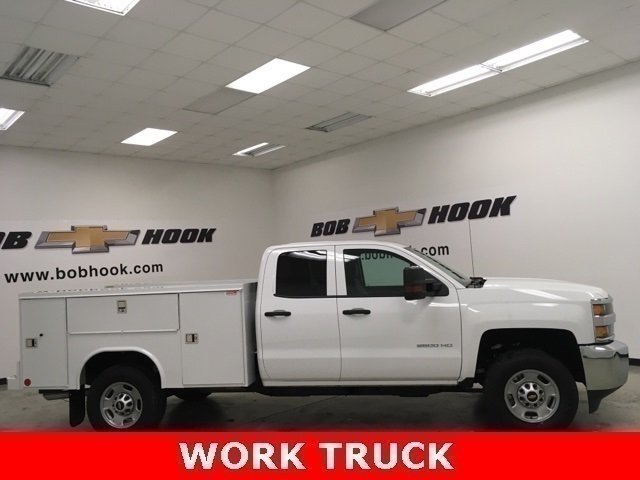 2019 Silverado 2500 Double Cab 4x4, Reading SL Service Body #191164 - photo 3