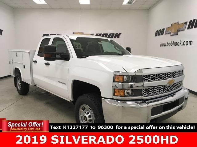 2019 Chevrolet Silverado 2500 Double Cab 4x4, Reading Service Body #191167 - photo 1