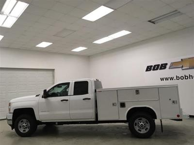 2019 Silverado 2500 Double Cab 4x4, Reading SL Service Body #191167 - photo 6