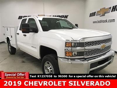 2019 Chevrolet Silverado 2500 Double Cab 4x4, Knapheide Steel Service Body #191170 - photo 1