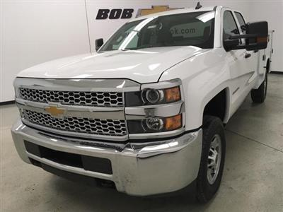 2019 Chevrolet Silverado 2500 Double Cab 4x4, Knapheide Steel Service Body #191170 - photo 8
