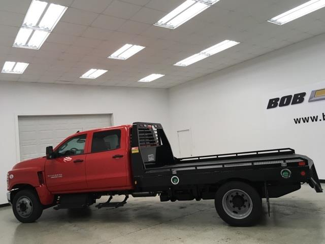 2020 Chevrolet Silverado 4500 Crew Cab DRW 4x2, Hillsboro GII Steel Platform Body #200543 - photo 3