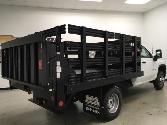 2020 Chevrolet Silverado 3500 Regular Cab DRW 4x2, Monroe Platform Body #200882 - photo 1
