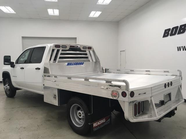 2021 Chevrolet Silverado 3500 Crew Cab 4x4, Hillsboro Platform Body #210274 - photo 1
