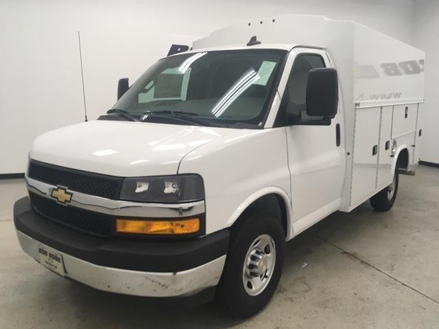 2021 Chevrolet Express 3500 4x2, Service Utility Van #210344 - photo 1
