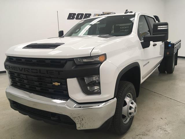 2021 Chevrolet Silverado 3500 Crew Cab 4x4, Hillsboro Platform Body #210380 - photo 1