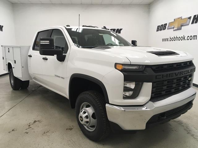 2021 Chevrolet Silverado 3500 Crew Cab 4x4, Knapheide Service Body #210453 - photo 1