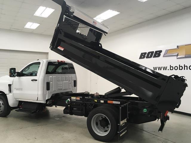 2021 Silverado 5500 Regular Cab DRW 4x2,  Knapheide Drop Side Dump Body #210673 - photo 24