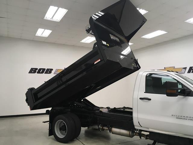 2021 Silverado 5500 Regular Cab DRW 4x2,  Knapheide Drop Side Dump Body #210673 - photo 26