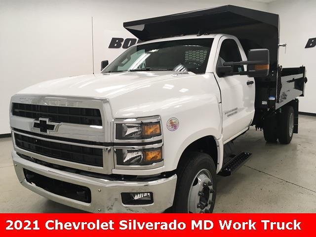 2021 Chevrolet Silverado 5500 Regular Cab DRW 4x2, Cab Chassis #210673 - photo 1