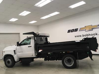 2021 Silverado 5500 Regular Cab DRW 4x2,  Knapheide Drop Side Dump Body #210673 - photo 8