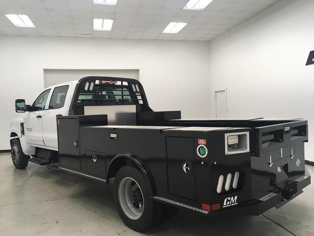 2021 Chevrolet Silverado 4500 Crew Cab DRW 4x2, CM Truck Beds Platform Body #210694 - photo 1