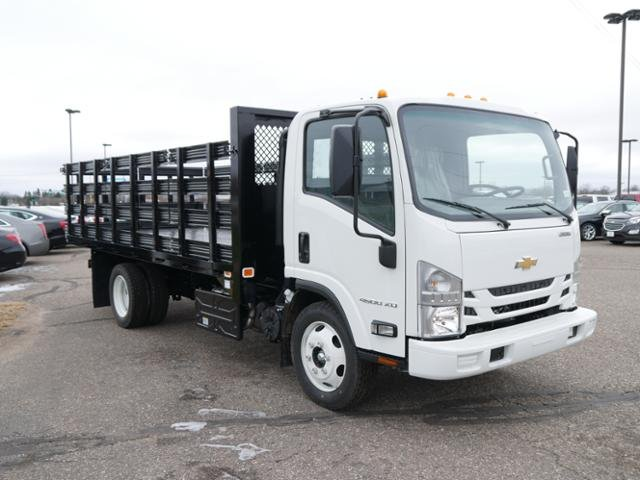 2019 LCF 4500XD Regular Cab 4x2, Knapheide Heavy-Hauler Junior Stake Bed #C190237 - photo 4