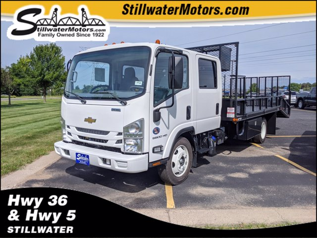 2020 Chevrolet LCF 5500HD Crew Cab DRW 4x2, Wil-Ro Dovetail Landscape #C200678 - photo 1