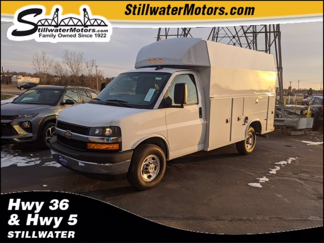 2020 Chevrolet Express 3500 4x2, Knapheide Service Utility Van #C200972 - photo 1