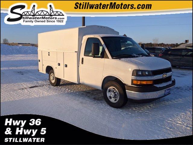 2020 Chevrolet Express 3500 4x2, Knapheide Service Utility Van #C200981 - photo 1