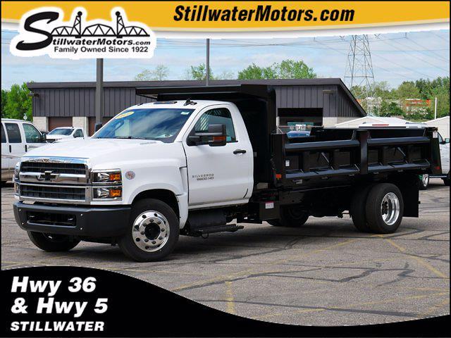 2021 Chevrolet Silverado Medium Duty Regular Cab DRW 4x2, Rugby Dump Body #C210360 - photo 1