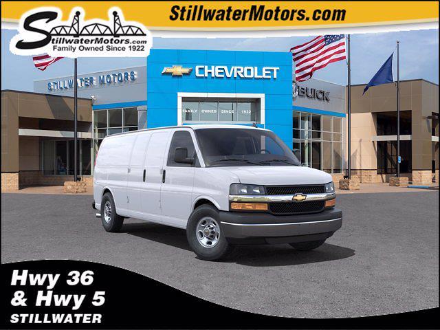 2021 Chevrolet Express 3500 4x2, Empty Cargo Van #C210645 - photo 1