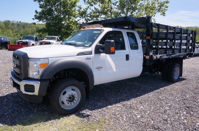 2016 F-550 Super Cab DRW 4x4, Knapheide Stake Bed #G2084 - photo 4