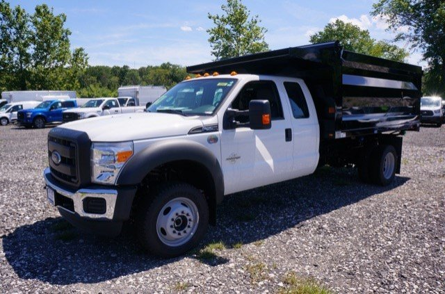 2016 F-550 Super Cab DRW 4x4, Rugby Landscape Dump #G2093 - photo 4