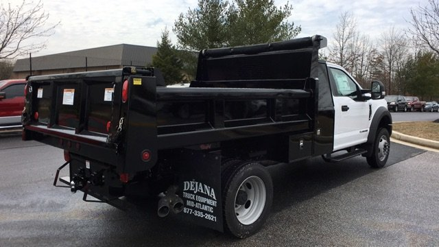 2017 F-450 Regular Cab DRW 4x4, Rugby Dump Body #H1445 - photo 2